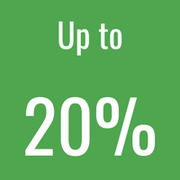 20% icon